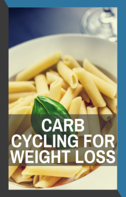 book cover of carb cycling for weight loss