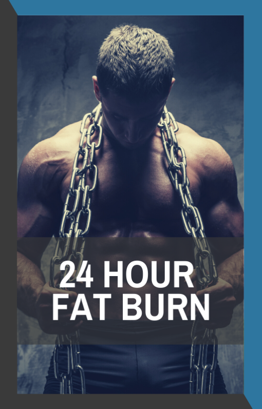 book cover of 24 hour fat burn