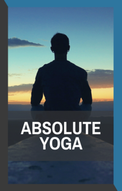 book cover of absolute yoga