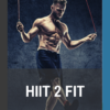 book cover of HIIT to fit