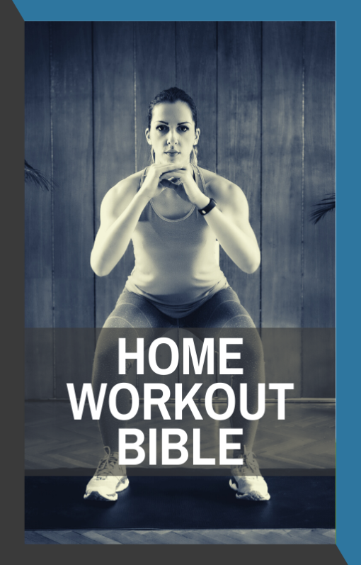 book cover of home workout bible