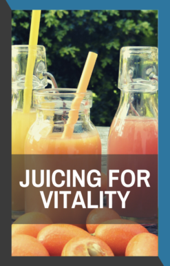book cover of juicing for vitality