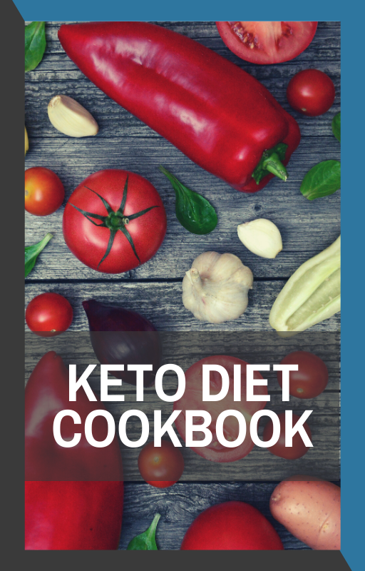 book cover of keto diet cookbook