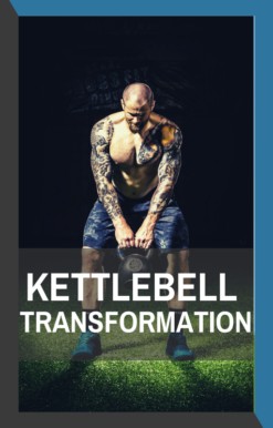 book cover of kettlebell transformation