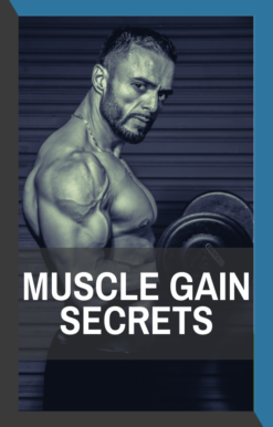 book cover of muscle gain secrets