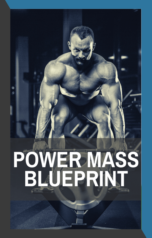 book cover of power mass blueprint