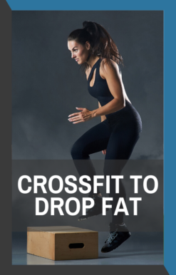 book cover of crossfit to drop fat
