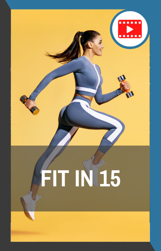 book cover of fit in 15