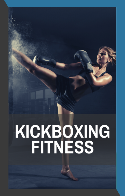 book cover of kickboxing