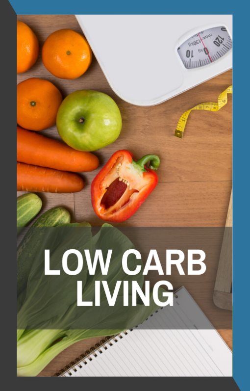 book cover of low carb living