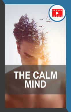book cover for the calm mind