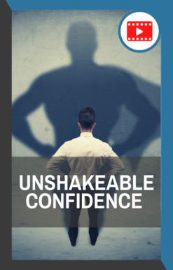 book cover of unshakeable confidence